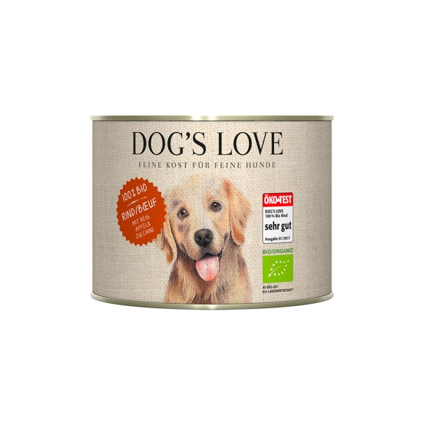 DOG'S LOVE BIO Ternera con...