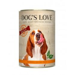 DOG'S LOVE latas BARF Pavo...