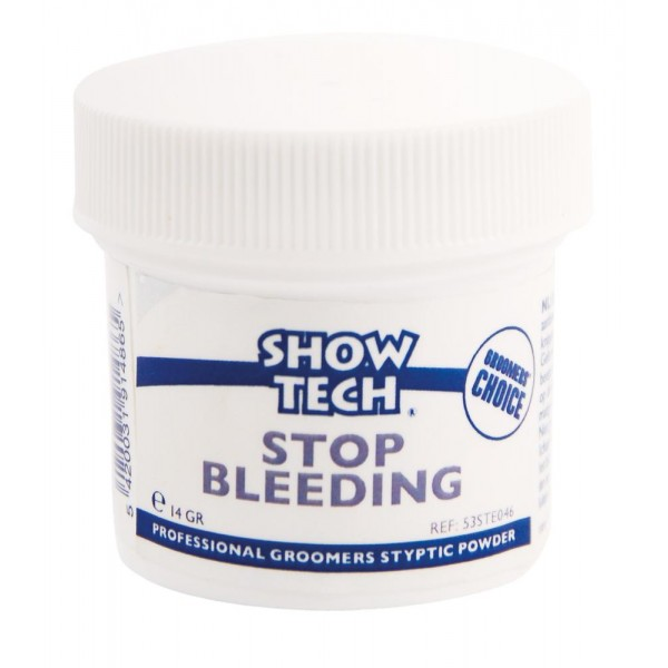 Show Tech polvo stop bleeding