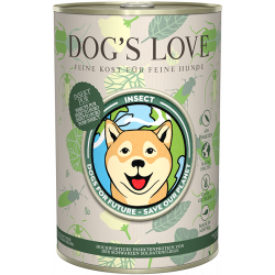 DOG'S LOVE INSECTOS puro 400g