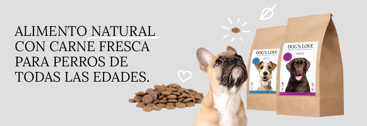dog's love alimentacion natural para perros